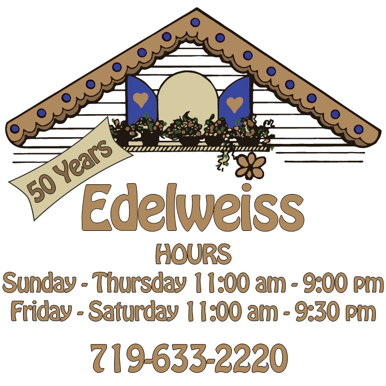 Edelweiss German Restaurant Logo
